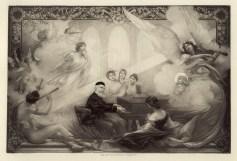 Charles Gounod, gravure de Guillaume Dubufe (1853-1909)