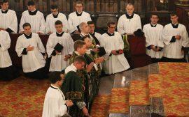 Première messe de M. l'Abbé Guillaume, fssp : Veni creator Spiritus