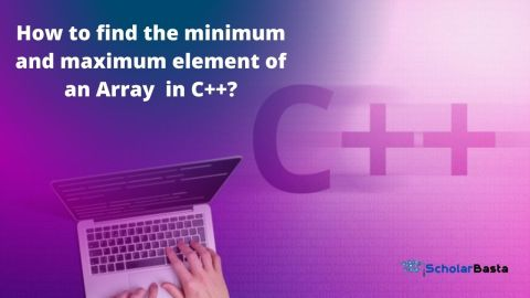 How to find the minimum and maximum element of an Array using STL in C++?