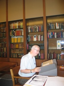 David Bright, Professor of Classics and Comparative Literature at Emory University the Scarborough scrapbook.