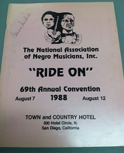 1988 Convention of The National Association of Negro Musicians, Inc.