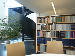 The Reading Room of the Leipziger Stadtbibliothek (Leipzig Municipal Library)