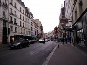 Figure 3: Rue de Faubourg Saint-Antoine.