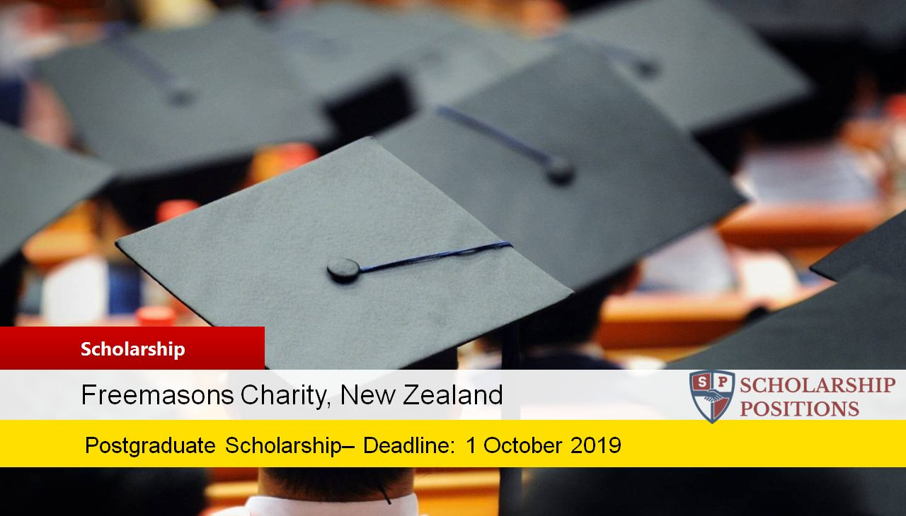 Freemasons postgraduate placements in New Zealand, 2019