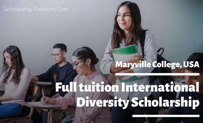 Image result for Full tuition International Diversity Scholarship at Maryville College, USA