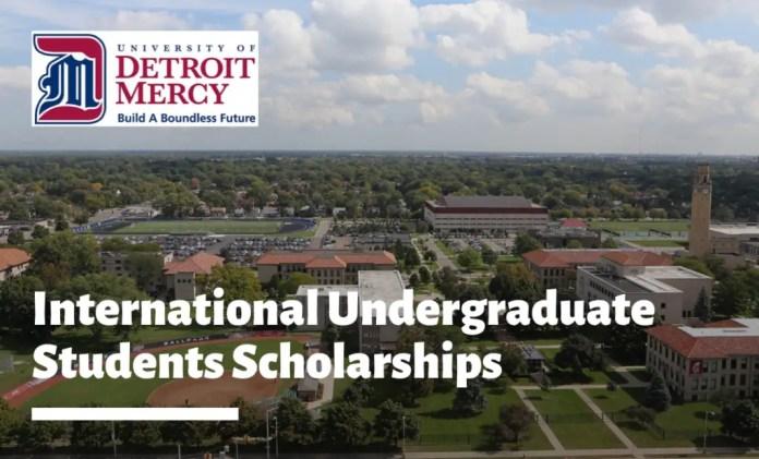 Image result for International Undergraduate Students Scholarships at University of Detroit Mercy, USA