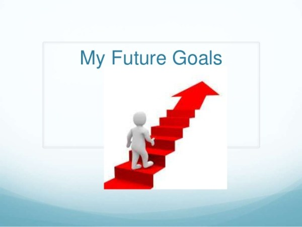 Career Goal: Get It Over With Future