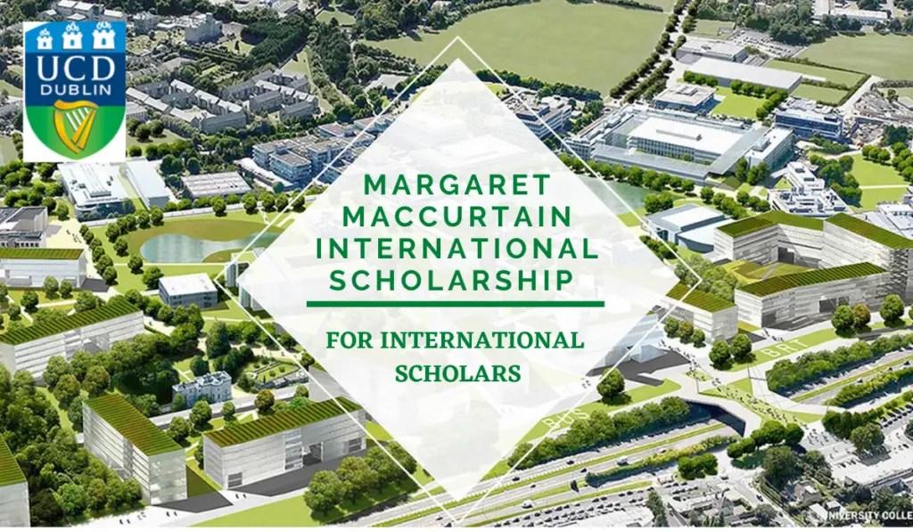 UCD Margaret MacCurtain International Scholarship in Women's History