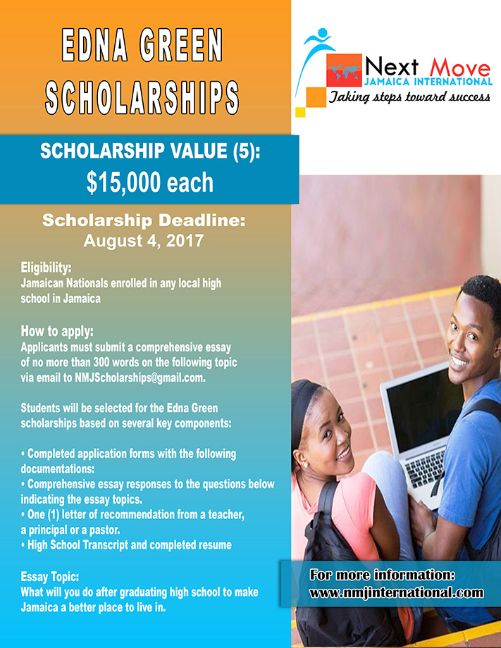 Edna Green Scholarships