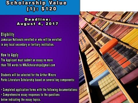Arthur Winzro Literature Scholarship