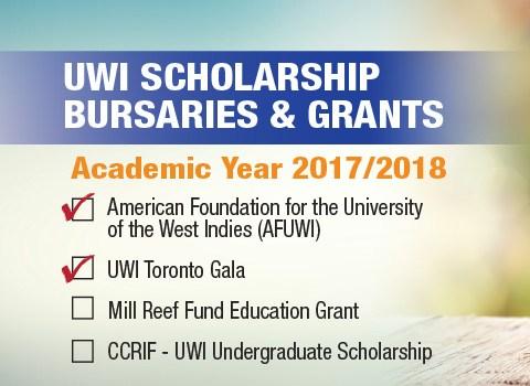 uwi scholarship deadline