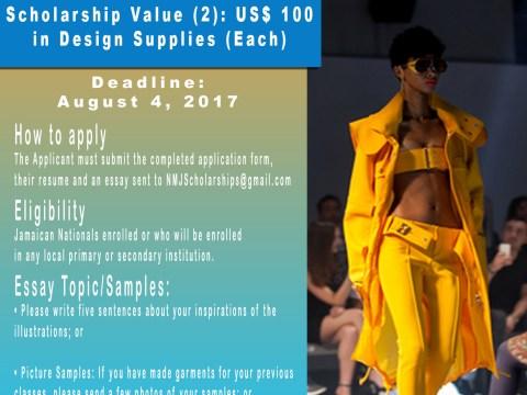 Arthur Winzro Parks Fashion Design Scholarships