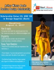 Apply for the Arthur Winzro Parks Fashion Design Scholarships