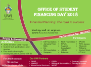 The UWI Inaugural Office of Student Financing Day