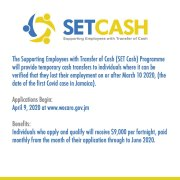 Have You Applied for your SET Cash Programme?