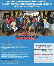 The GraceKennedy Jamaica Scholarship: Provided by the GraceKennedy Foundation