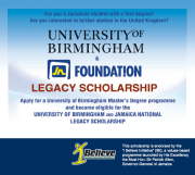 Apply for the Graduate JN Foundation Legacy Scholarship with University of Birmingham