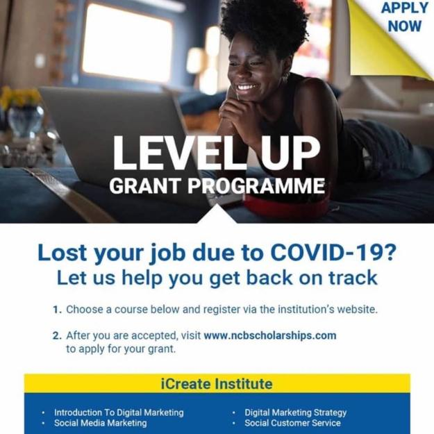 Level Up Grant, NCB Foundation