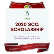 2020 TVJ School's Challenge Quiz (SCQ) Scholarship