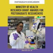 Ministry of Health Research Grant Awards for Postgraduate Researchers
