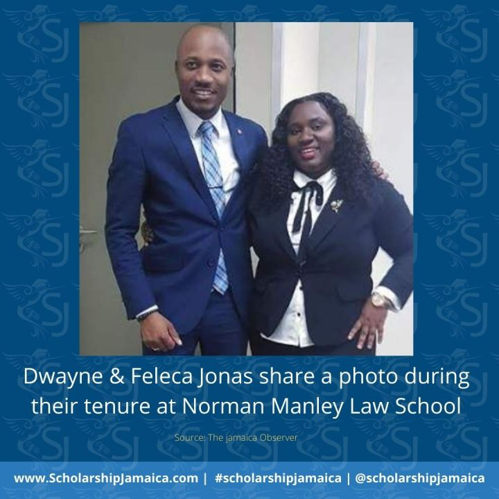 Dwayne & Feleca Jonas are now waiting to be called to the Jamaican Bar Association, having completed 2yr tenure at Norman Manley Law School.