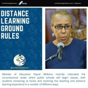 Education Minister Lays Out Ground Rules For Distance Learning