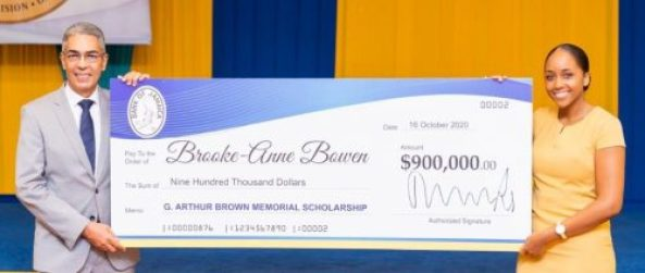 The Bank of Jamaica (BOJ) announced their inaugural 2020/21 Colin Fitz- Herbert Bullock & G. Arthur Brown Memorial Scholarship awardees.