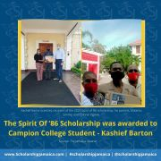 The Spirit Of '86 Scholarships were awarded to Campion College Students - Future Paediatrician Recipient