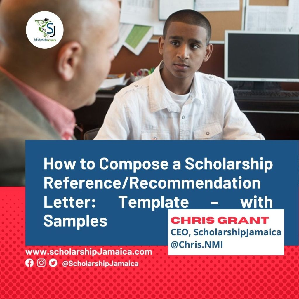 Scholarship recommendation letter or Scholarship reference letter provides information about the character, qualities, volunteerism & achievements of a candidate to fulfill basic criteria