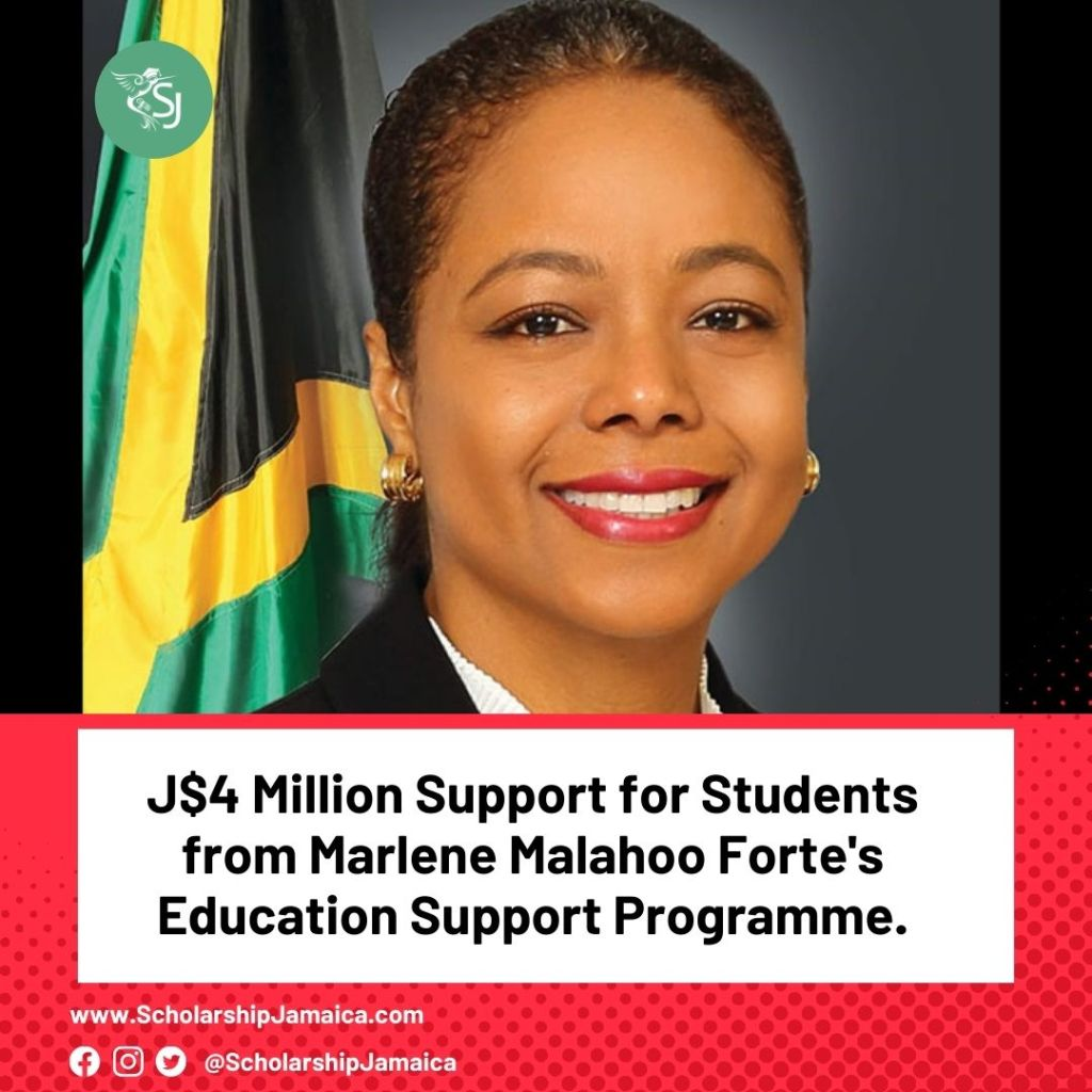 Courtnie Thompson, a third-year medical student of The University of the West Indies, is one step closer to achieving her dream of becoming a pediatrician with a scholarship from the Marlene Malahoo Forte's Education Support Programme.