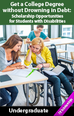 Scholarship Opportunities for Students with Disabilities