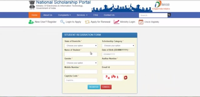 Merit Cum Means Scholarship for minority students and girls which is government scholarship given my ministry of minority affairs India to financially weak students