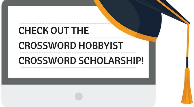 Crossword Hobbyist Crossword Scholarship