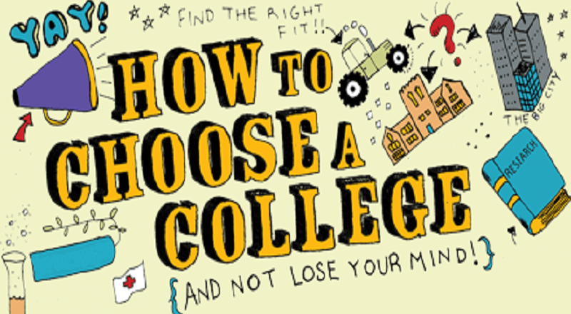 Picking the Right College in Two Easy Steps!