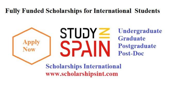 Study in Spain 2021