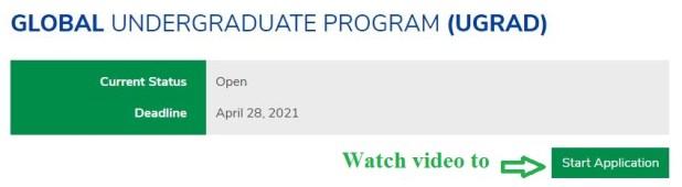 Undergraduate Semester Exchange Scholarship Program in USA 2021-2022