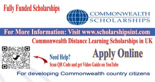 CommonWealth Scholarships in 2021