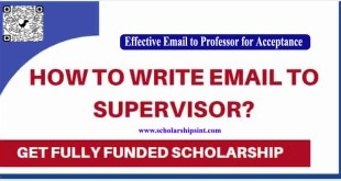 Email to Professor For Scholarship Acceptance