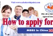 How to Apply for MBBS in China