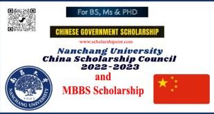 Study at Nanchang on CSC Scholarship