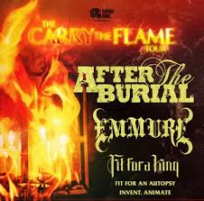 Carry The Flame Tour featuring After The Burial Slays Iowa!