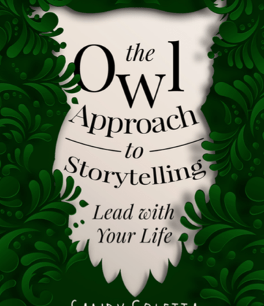 """""""The Owl Approach To Storytelling:  Lead With Your Life"""" from Author Sandy Coletta Available Now!"""