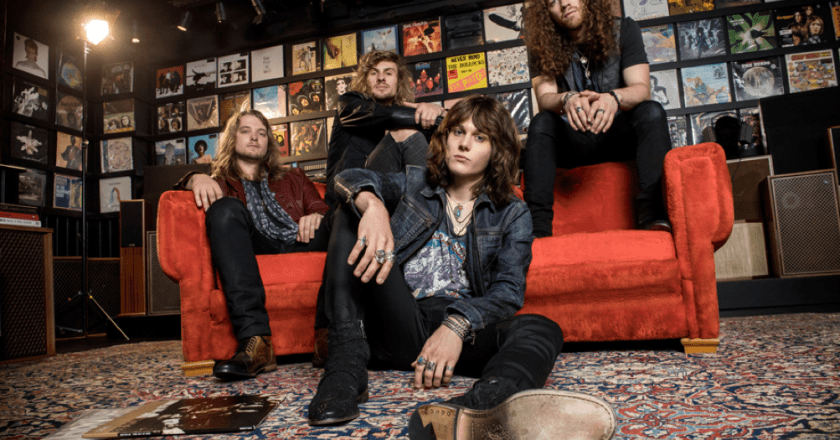 Bassist Noah Denney of Tyler Bryant & The Shakedown Discusses Rock'N'Roll History with Madness To Creation!