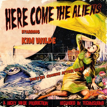 """""""Here Come The Aliens"""" by Kim Wilde, out of this world experience!"""