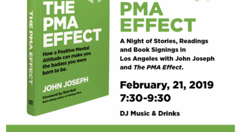 """""""The PMA Effect"""" by JOHN JOSEPH(CRO-MAGS) is Out Now! Book Signing to Take Place in Los Angeles on February 21st!"""