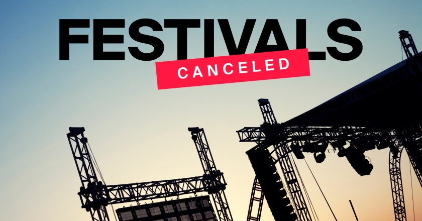 At SickFestivals.com, You Can Track All the Cancelled Festivals Due to COVID-19