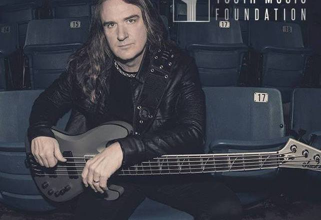 """David Ellefson of MEGADETH Discusses """"School's Out Initiative"""" and Writing New Megadeth Album with Mark Dean of Madness To Creation!"""