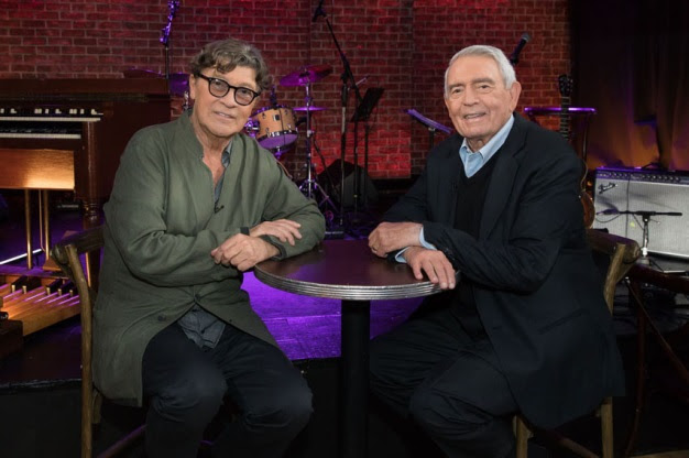 """Robbie Robertson of THE BAND to Appear on """"The Big Interview"""" with Dan Rather this Wednesday Night on AXS TV!"""