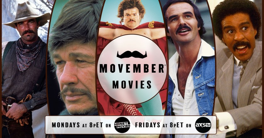 AXS TV & MOVEMBER are Partnering Together to Raise Awareness for Men's Mental Health this November!