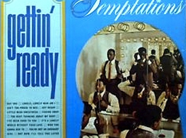 """(Album Review) Celebrating Black History Month: Getting Educated Day 1 of 28 """"Gettin' Ready"""" by THE TEMPTATIONS"""